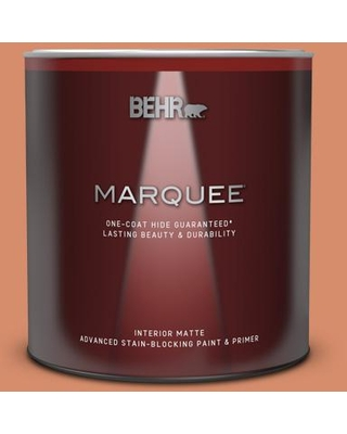 Check Out Deals On Behr Marquee 1 Qt Mq4 38 Balcony Sunset One Coat Hide Matte Interior Paint Primer