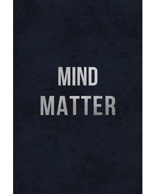 """Wrought Studio 'Mind Matter' Textual Art on Wrapped Canvas BF185264 Size: 45"""" H x 30"""" W x 1.5"""" D"""