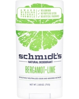 Schmidt's Bergamot + Lime Natural Deodorant - 2.65oz, Multi-Colored