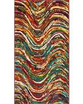 Spacedye Design Loomed Accent Rug 2'7X5' - Safavieh, Multicolored