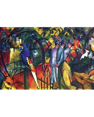 """Buyenlarge 'Zoological Gardens' Print 0-587-25352-5 Size: 44"""" H x 66"""" W x 1.5"""" D"""