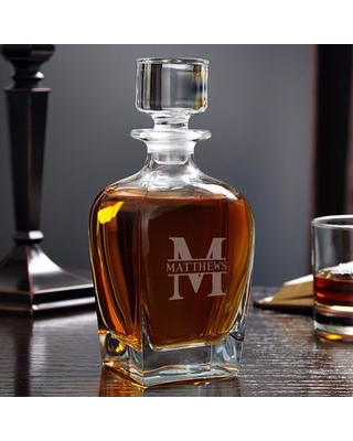 Kaity Personalized 24 oz. Whiskey Decanter