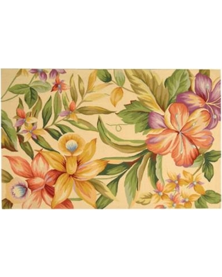 Safavieh Chelsea Delphine Floral Hand Hooked Wool Rug, 2.5X4 Ft