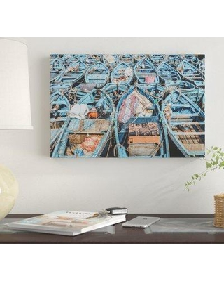 """East Urban Home 'Essaouira Morocco' by Luke Anthony Gram Graphic Art Print on Wrapped Canvas EUME4777 Size: 18"""" x 26"""" x 1.5"""""""