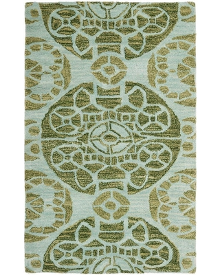 Safavieh Wyndham Turquoise/Green 3 ft. x 4 ft. Area Rug