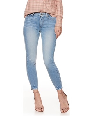 New Savings on Women s Paige Hoxton High Waist Crop Skinny Jeans ... db5020cd93