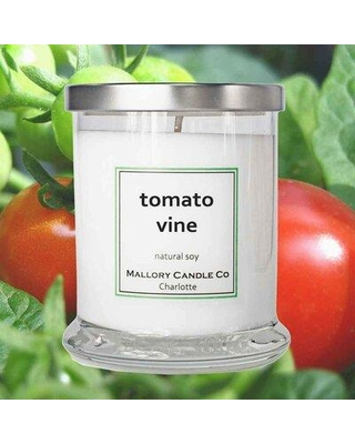 Mallory Candle Co Tomato Vine Scented Jar Candle 646223644838