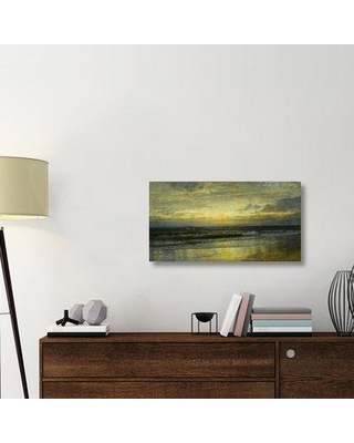 "East Urban Home 'Marine 1897' Graphic Art Print on Wrapped Canvas ERNI9603 Size: 19.1"" H x 36"" W x 1.5"" D"