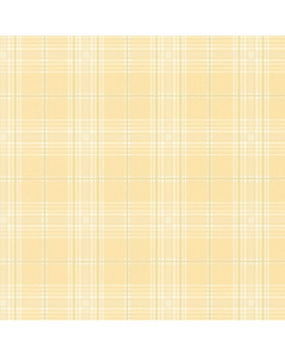 Discover Deals On Norwall Chic Plaid Vinyl Strippable Roll Wallpaper Covers 56 Sq Ft Yellow Green