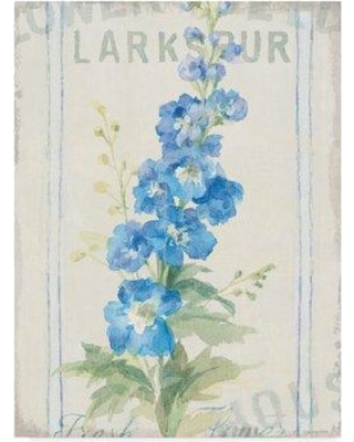 """Ophelia & Co. 'Floursack Florals VII' Acrylic Painting Print on Wrapped Canvas OPHL1946 Size: 19"""" H x 14"""" W x 2"""" D"""