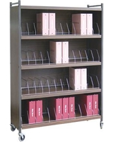 Omnimed Big Beam Standard 32 Cap Cabinet Style File Cart 261526 Color: Beige