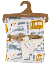 Check Out Deals On Lila And Jack Mink Kids Baby Blanket With Mink Backing Yellow
