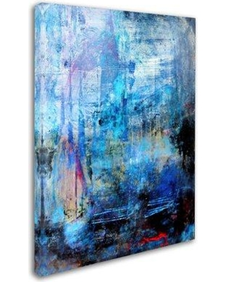 """Trademark Fine Art 'Honor' Print on Wrapped Canvas ALI17991-C Size: 32"""" H x 24"""" W"""