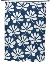 Latitude Run Velasquez Shower Curtain LATR8456 Color: Blue