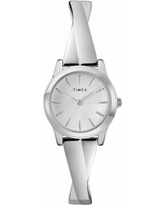 Timex Women's Elevated Classic Criss Cross Expansion Watch - TW2R98700JT, Size: Small, Grey