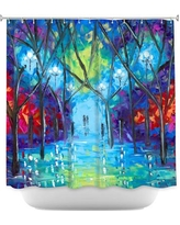 DiaNocheDesigns Ever After Shower Curtain SHO-JessilynParkEverAfter