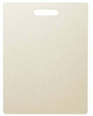 Dexas Superboard Cutting Board with Handle, 8.5 by 11 inches, Oatmeal Granite Color