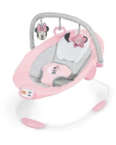 Bright Starts Minnie Mouse Rosy Skies Cradling Baby Bouncer - Pink