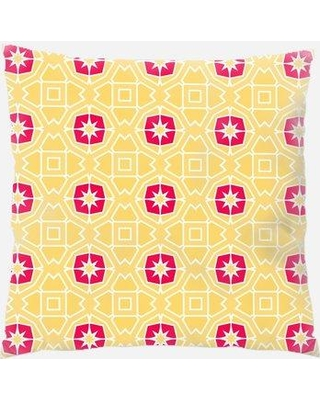 East Urban Home Pattern Throw Pillow W000781276 Location: Indoor