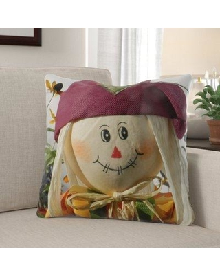 The Holiday Aisle Worthley Scarecrow Indoor/Outdoor Throw Pillow W001253858