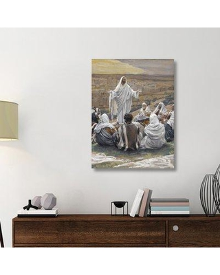 "East Urban Home 'The Lord's Prayer The Life of Our Lord Jesus Christ 1886-1894' Graphic Art Print on Wrapped Canvas ERNI9386 Size: 40"" H x 30"" W x 1.5"" D"