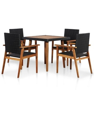 Fortier 5 Piece Dining Set Sol 72 Outdoor™