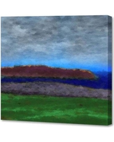 """Menaul Fine Art 'River Valley' by Scott J. Menaul Painting Print on Wrapped Canvas 7241316667 Size: 36"""" H x 36"""" W"""
