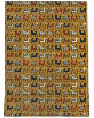 World Menagerie Schermbeck Yellow Area Rug W002108873 Rug Size: Rectangle 4' x 6'