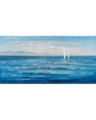 Highland Dunes 'Ocean's Eleven' Oil Painting Print on Wrapped Canvas HIDN5786