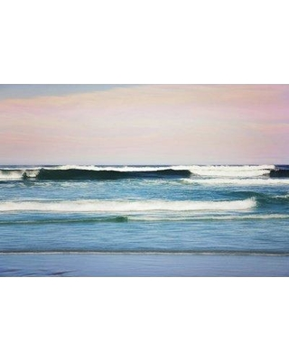 """Marmont Hill 'Crashing Waves' by Sylvia Cook Painting Print on Wrapped Canvas MH-SYLCOO-05-C- Size: 12"""" H x 18"""" W x 1.5"""" D"""
