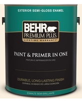 Amazing Sales On Behr Ultra 1 Gal Pwn 22 Organza Peach Satin Enamel Exterior Paint And Primer In One