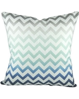 TheWatsonShop Chevron Cotton Throw Pillow COMBCHEV16