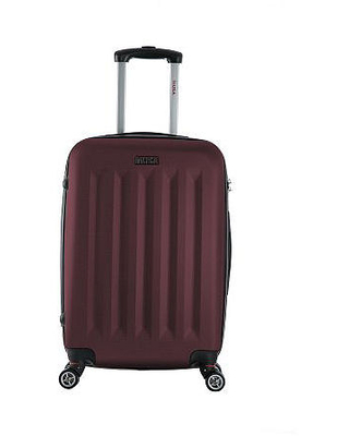 InUSA Philadelphia Lightweight Hardside 23 Inch Spinner Luggage, One Size , Red