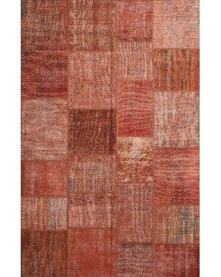 East Urban Home Contemporary Brown/Yellow Area Rug X112874842 Rug Size: Rectangle 5' x 7'