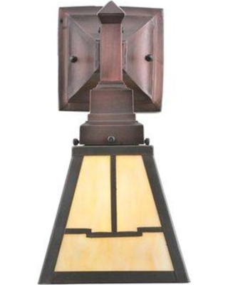 Meyda Tiffany Valley View 1-Light Armed Sconce 107065