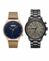 Kenneth Cole Unlisted Classic Watch Set, 45MM - Multi