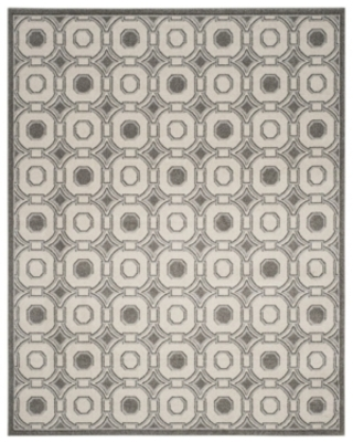 Safavieh Amherst Ivory and Gray 8' x 10' Area Rug