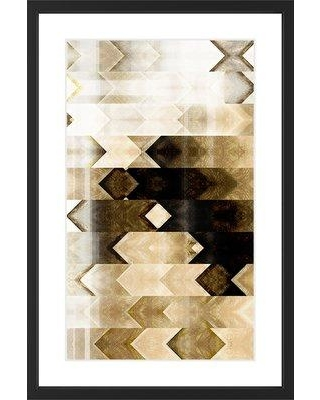"Marmont Hill 'Deaf Echo' Framed Painting Print MH-CUSPAT-101-V2-BFP- Size: 24"" H x 16"" W x 1.5"" D"
