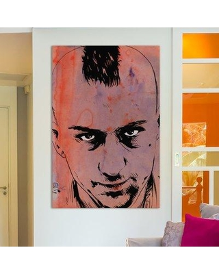 """East Urban Home Travis Bickle Painting on Wrapped Canvas ESRB5831 Size: 60"""" H x 40"""" W x 1.5"""" D"""