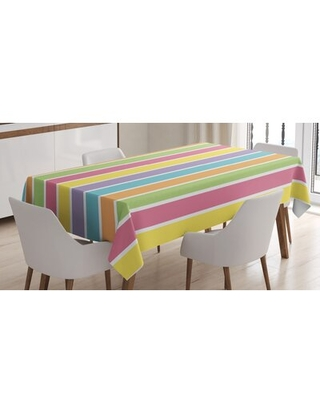 "Dining Room Kitchen Tablecloth East Urban Home Size: 84"" L x 60"" W"