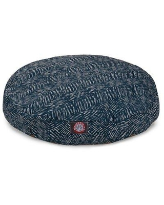 "Majestic Pet Products Southwest Pet Bed Pillow, Polyester in Navy, Size Small (30"" W x 30"" D x 4"" H); 