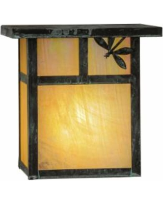 Meyda Lighting Hyde Park T Mission 8 Inch Wall Sconce - 146928