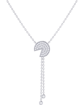 LMJ - Pac-Man Candy Lariat Necklace In Sterling Silver
