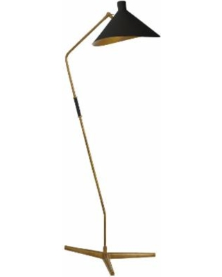 Visual Comfort and Co. Aerin Mayotte 55 Inch Reading Lamp - ARN 1013HAB-BLK