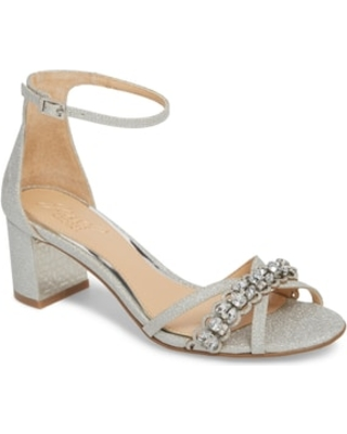 dbf3b4e0572 New Savings on Women s Jewel Badgley Mischka Giona Sandal