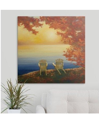 """Great Big Canvas 'Autumn Glow II' by Julia Purinton Painting Print 2416657_1 Size: 30"""" H x 30"""" W x 1.5"""" D Format: Canvas"""