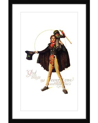 "Marmont Hill ""Tiny Tim"" by Norman Rockwell Framed Art Print"
