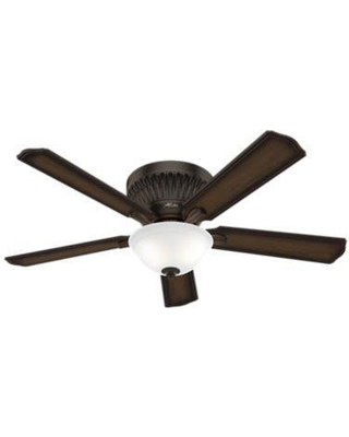 Hunter Fan Chauncey Low Profile With Light 54 Inch Outdoor Rated Ceiling