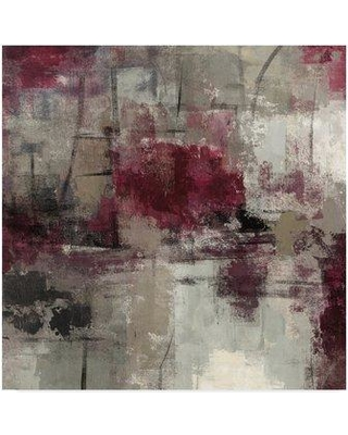 """Wrought Studio 'Stone Gardens III' Acrylic Painting Print on Wrapped Canvas WRSE0227 Size: 24"""" H x 24"""" W x 2"""" D"""