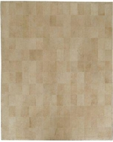Exquisite Rugs One-of-a-Kind Suede Hand-Woven Beige Area Rug 2221- Rug Size: Rectangle 5' x 8'